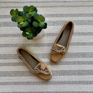 Eastland Women's Size 8 Sequin Boat Shoes